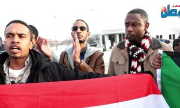 "Sudanese Americans protest ""genocidal"" president, prepare for rally in Washington, D.C."