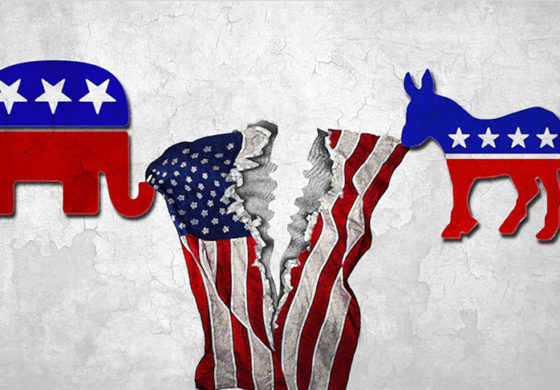 American politics' great divide