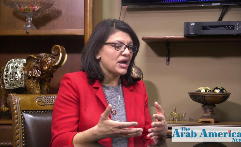 Rashida Tlaib announces impeachment resolution against President Trump