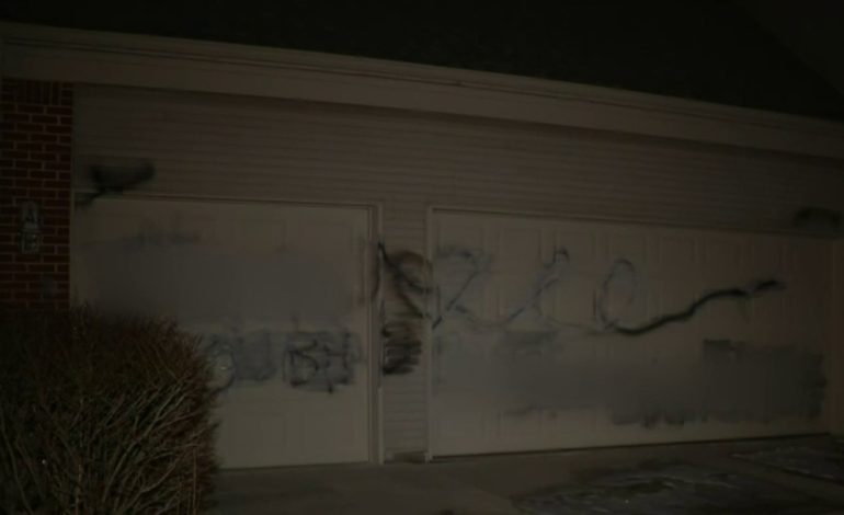 Civil liberties group calls for ethnic intimidation charges in Ypsilanti home vandalism
