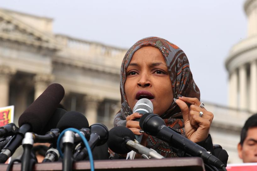 Ilhan Omar made history, again.