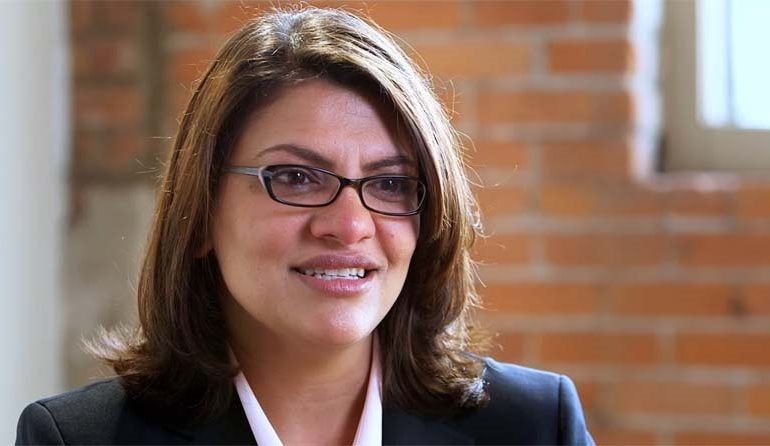 Rashida Tlaib announces bid for a second term in the House