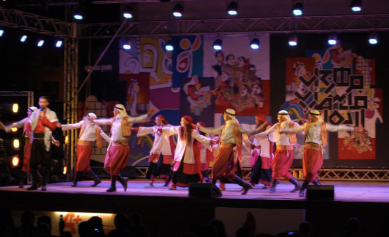 Fordson High School hosts Palestinian folk dance troupe performance