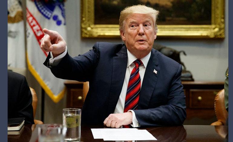 Trump vows 'VETO!' after bipartisan Senate rebuke on wall
