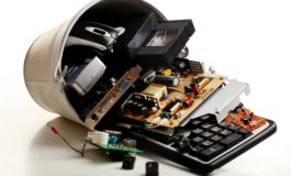 Recycle or donate your old electronics