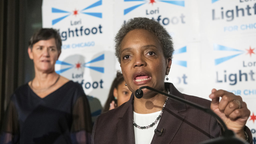 A former U.S. assistant attorney, Lightfoot, 56, will also become the first lesbian mayor in the history of the Windy City