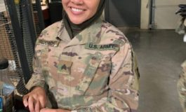 Muslim soldier suing U.S. Army alleges she was called a terrorist and forced to remove her hijab