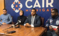 Muslim employees hold press conference with CAIR-MI to discuss recent incidents of workplace harassment and discrimination