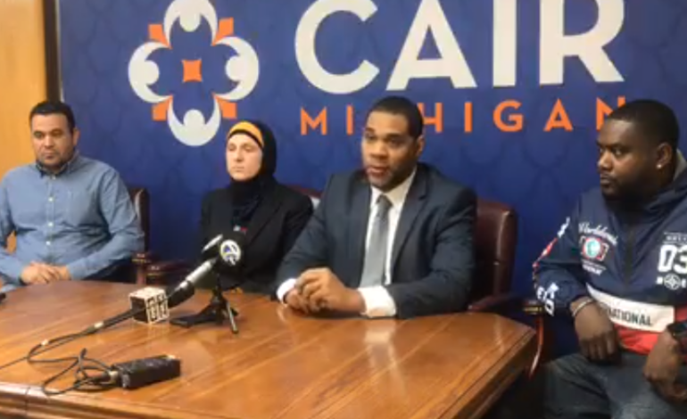 Muslim employees hold press conference, discuss workplace harassment and discrimination