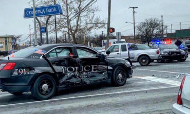 Dearborn police officer involved in collision