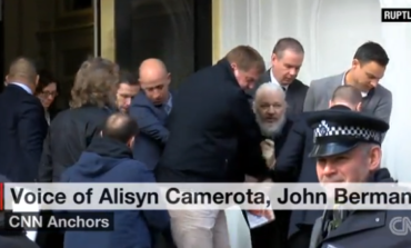 Julian Assenge forcibly removed from Ecuadorian embassy, arrested in London