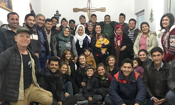 Christianity growing in Syrian town once taken over by ISIS