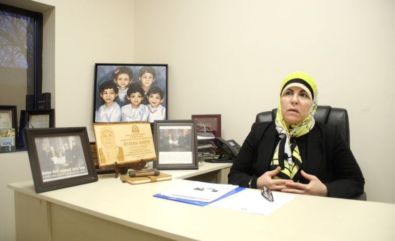 After decades of her own struggle, Rehab Amer works to empower other families