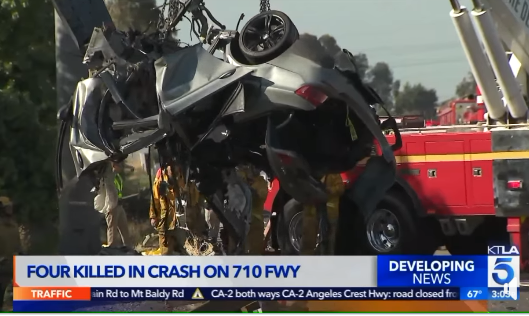 Four Arab Americans killed in high speed California crash