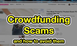 Avoid crowdfunding scams