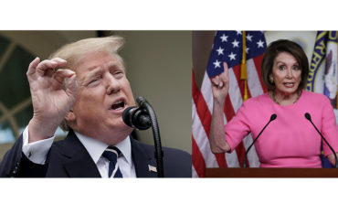Trump, Pelosi exchange insults and accusations as chaos engulfs Washington