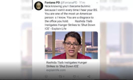 "Calif. police department apologizes for tweet calling Rep. Tlaib ""un-American"""