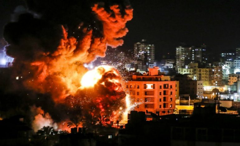"Israel strikes Hamas in Gaza, calling attack a ""response"" to rocket fire"