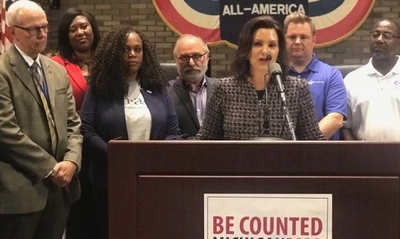 Whitmer signs new executive order to create Census Complete Count Committee