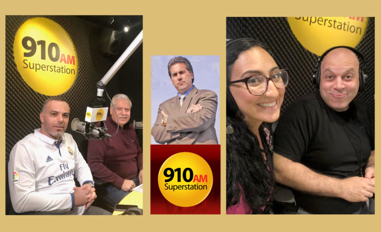 910 AM Superstation embraces diversity, humor, culture and politics with new Arab American shows