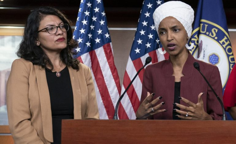 Trump encourages Netanyahu barring Tlaib and Omar from traveling to Israel