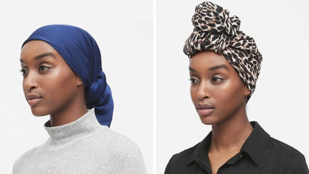Banana Republic has produced a limited line of hijabs. Courtesy Banana Republic