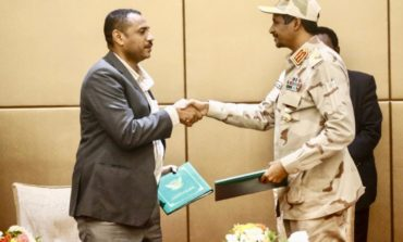 Sudan's military prepares to hand over power, declares its dedication to democratic values