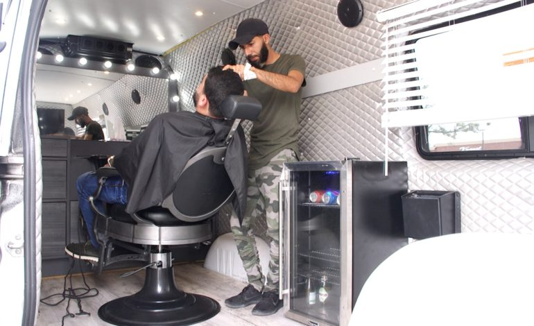 Iraqi immigrant brings innovative mobile barber business to Metro Detroit