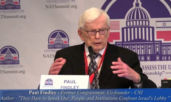 Paul Findley: A man of courage