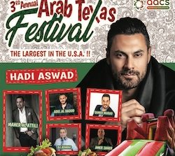 Arab American Cultural Society to host third annual Arab Texas Festival