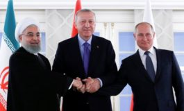 Putin hopes talks with Turkey, Iran could create conditions for final Syria crisis resolution
