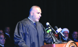 Officials, judges join community celebration of success at Judge Helal Farhat's investiture