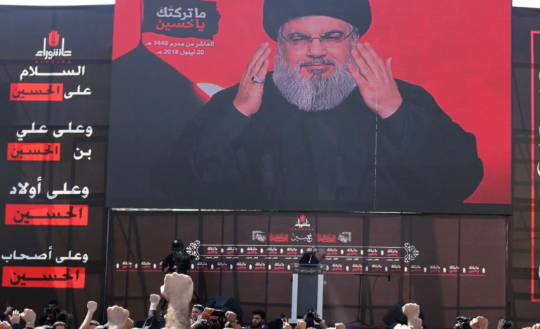 "Nasrallah warns Israel: ""Your border, your forces and your settlements"" at risk if strikes continue"