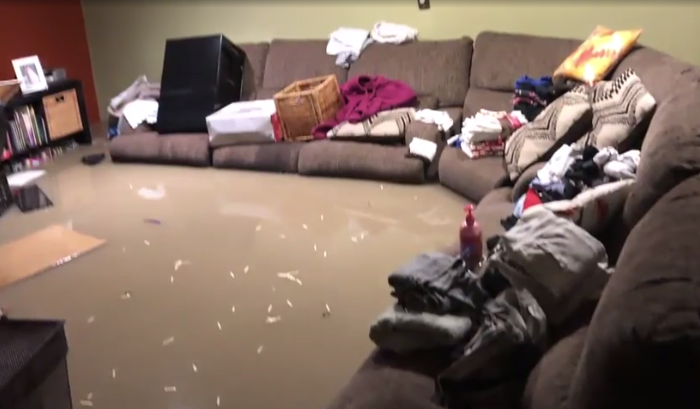 Several homes in Dearborn Heights flooded with raw sewage