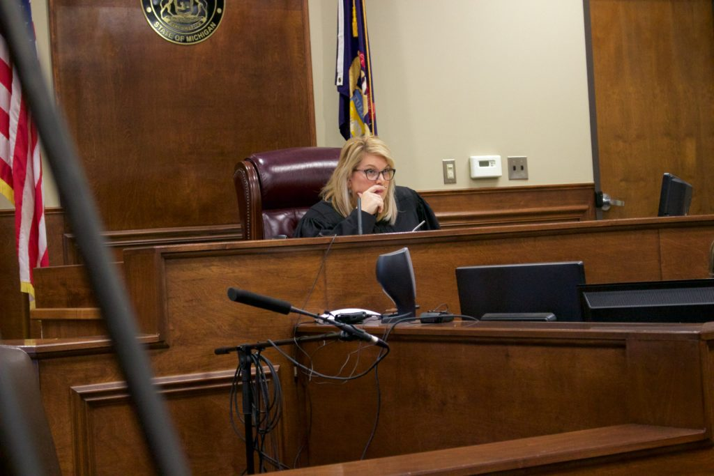 Judge Alexis G. Krot has instructed attorneys from both sides to conduct themselves professionally several times during the preliminary exam.