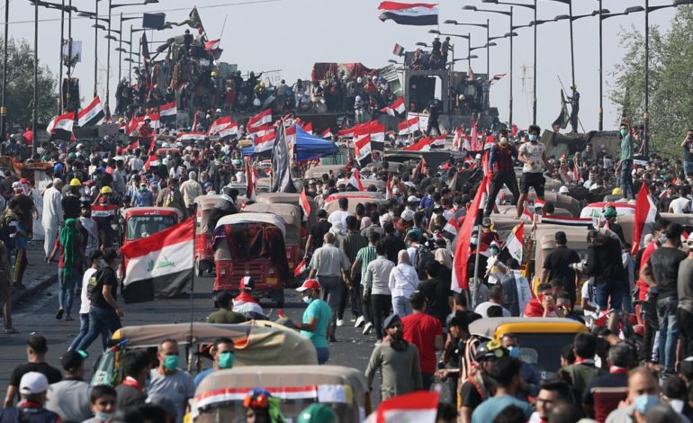 As protests swell in Iraq, local Iraqis speak out about the troubles in their homeland