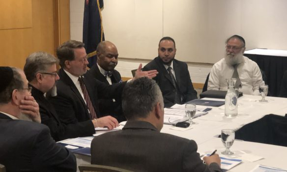 Sen. Gary Peters meets with Michigan faith leaders to discuss securing houses of worship