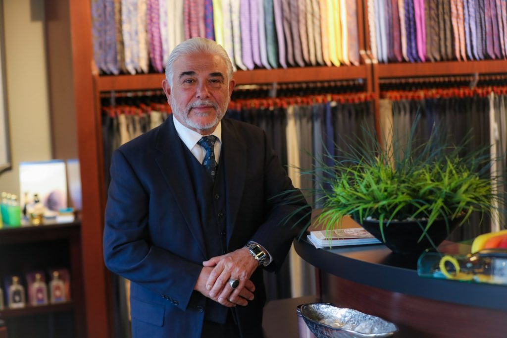 Kassem Hamka owned a custom tailoring shop in Livonia where his son Alex learned about the trade