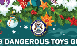 Michigan releases 2019 list of most dangerous toys