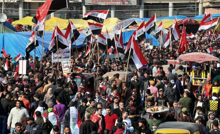 Violence in Baghdad as protests continue amid political uncertainty in Iraq