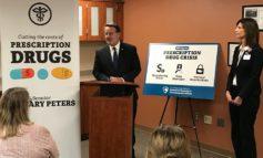 Sen. Peters calls for lowering prescription drug costs for Michigan patients