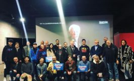 Arab American supporters of Bernie Sanders organize volunteers at Dearborn campaign event