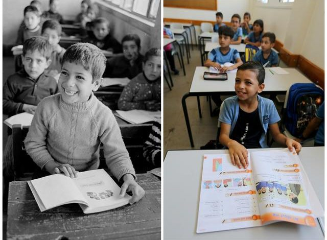 Side by side, glimpses of Palestinian refugee camps then and now