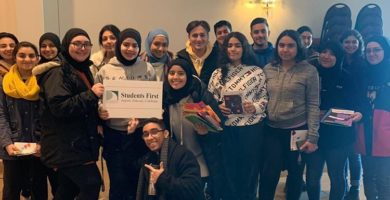 Dearborn Public Schools students hold Martin Luther King Day of Service