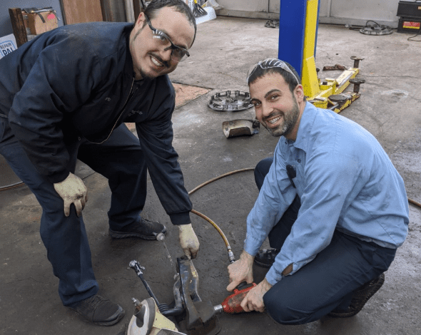 Arab American-owned auto shop assists the needy through Michigan's first low income repairs program