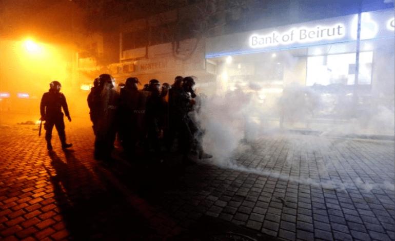 Beirut shaken by crackdown on violent protests