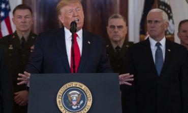 Trump indicates deescalation with Iran, promises further economic sanctions