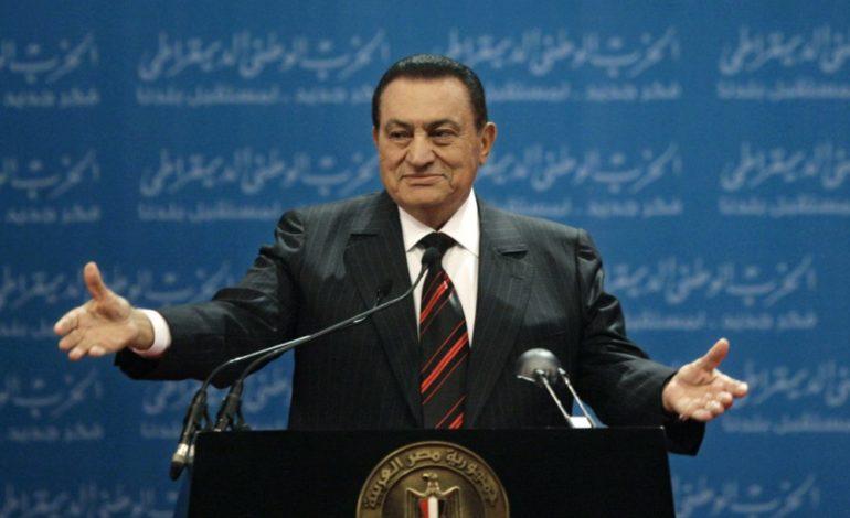 Former long-time Egyptian leader Hosni Mubarak dies in Cairo