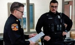 Dearborn Heights Police Officer Ayoub honored for saving life of toddler found face down in a pond