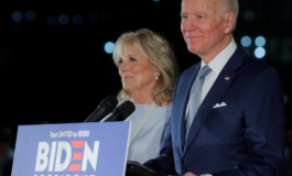 Biden rolls through Michigan, charges full steam ahead toward Democratic nomination